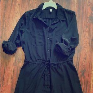 Old Navy Dresses - Women's Casual Button Up Shirt Dress